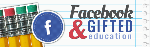 facebook and gifted ed banner Facebook and Gifted Education