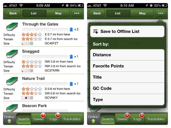 geocaching app w560 h600 Geocaching   Make Your Family Outings Even More Exciting