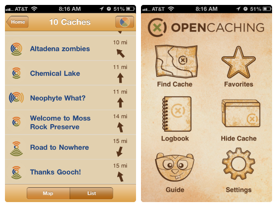 opengeocaching app w560 h600 Geocaching   Make Your Family Outings Even More Exciting